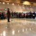 第2回境町シニア木版画ビエンナーレ展授与式
